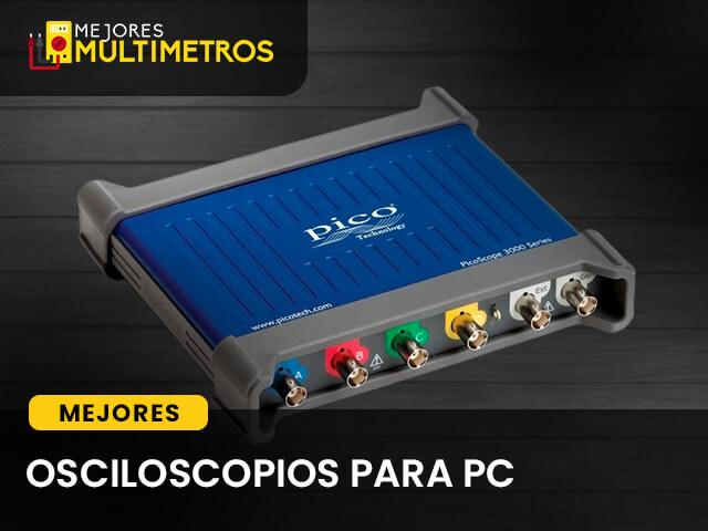 Osciloscopios para pc