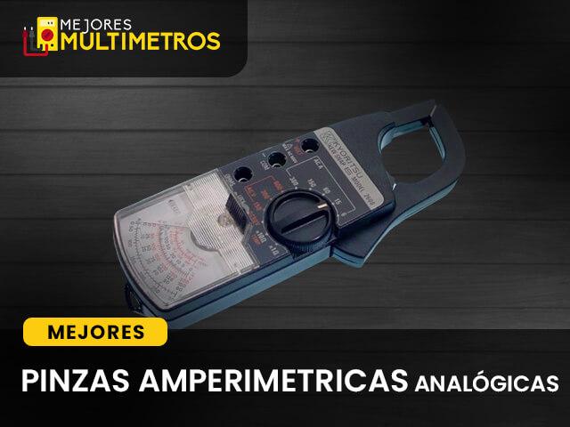 Pinza Amperimetrica Analógica