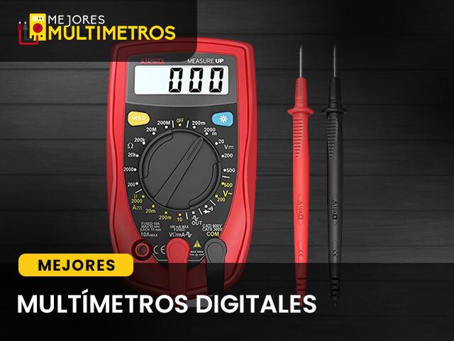 multimetros digitales