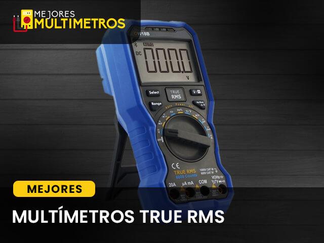 multimetros true rms