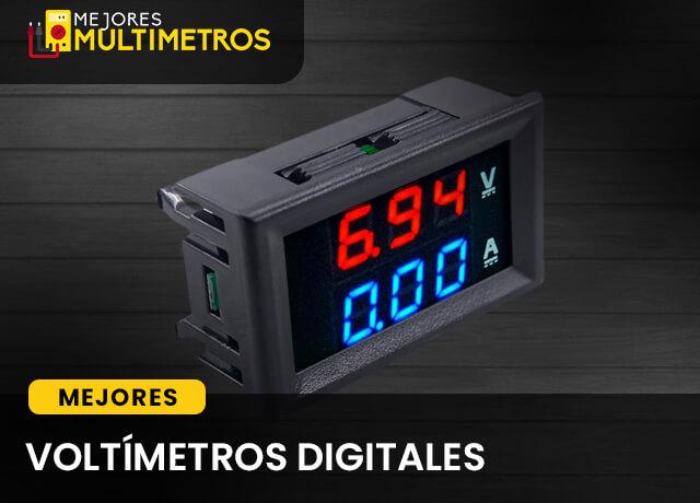 Mejores Voltímetros Digitales 1